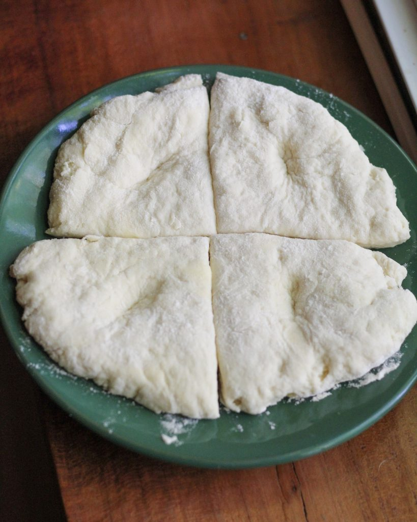 Traveling Vegan: Biscuit Dough