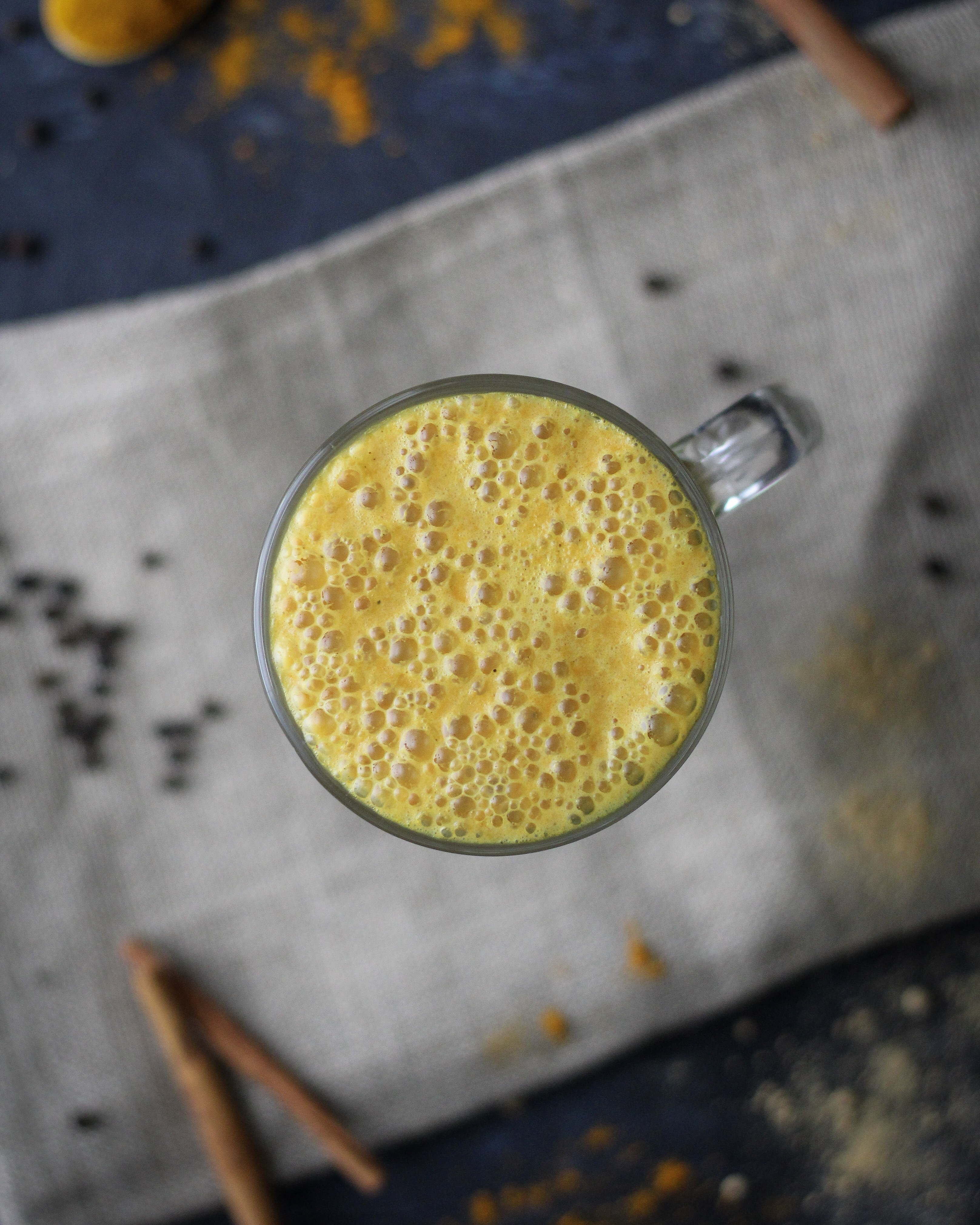 Vegan Golden Milk (or Turmeric Latte) a delicious drink for all seasons, that also boosts immunity and digestion.